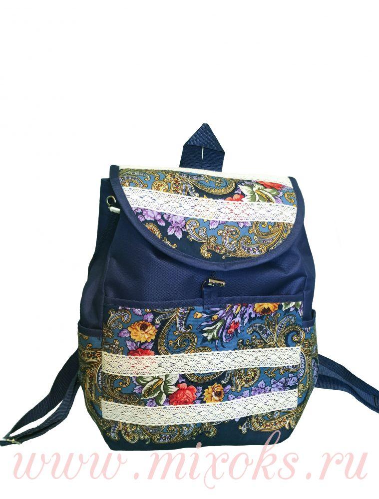 Рюкзак большой в русском стиле