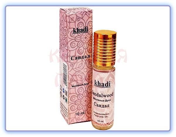 Масляные духи Сандал Khadi Sandalwood Concentrated Perfume Oil