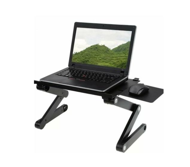 Стильный и уникальный складной столик трансформер для ноутбука Т8 для удобной и комфортной работы в нужном вам положении.