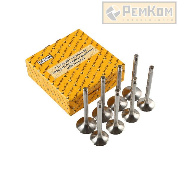 RK07040 * 2108-1007010 * Клапаны облегченные увеличенные 39мм/34мм для а/м 2108 (8 кл. дв., компл. 8 шт.) СПОРТ