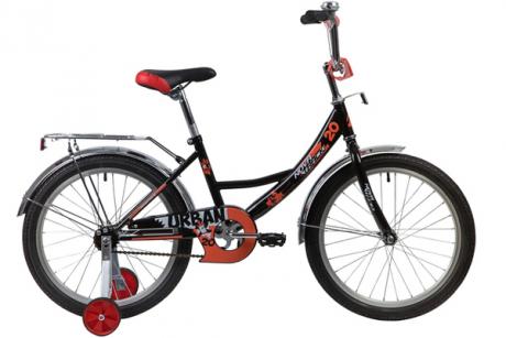 """Велосипед NOVATRACK 16"""" URBAN чёрный"""