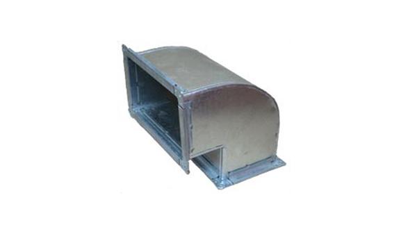 Отвод прямоугольный 90 150х300 (0,5)