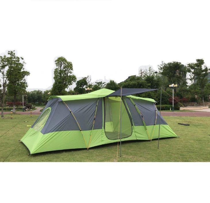 Палатка 4-7 местная Mir Camping Mimir-920 зеленый