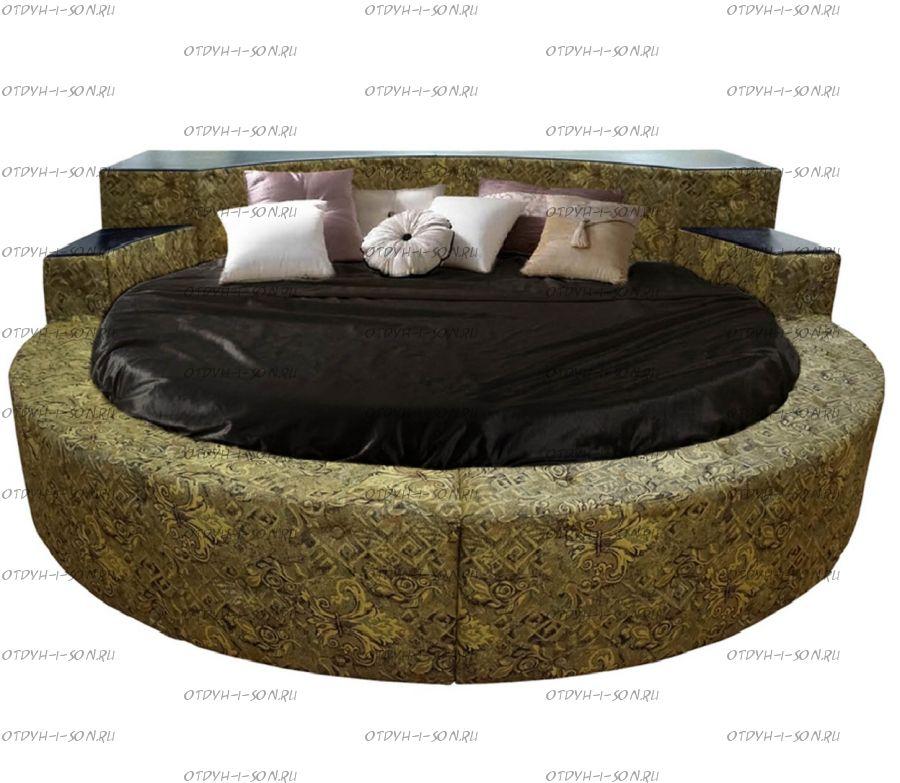Кровать круглая Элоиза 2029 (ВМК Шале)