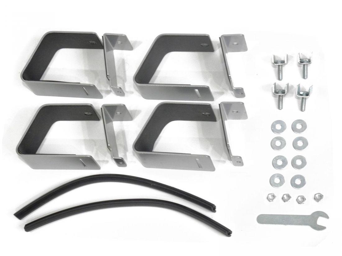 Комплект опор для Renault Duster 2, Delta, серебристый