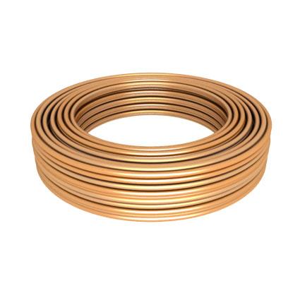 Труба медная 1/4 ASTM B280 50 метров