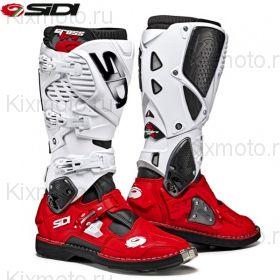 Ботинки Sidi Crossfire 3 мод. 2019г., Бело-красные