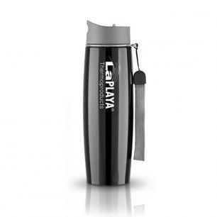 Кружка-термос из нерж. стали LaPlaya Thermo Mug SS Strap 0.5 L Black 560061