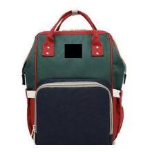 Сумка-рюкзак для мамы Mummy Bag, Красный-зелёный-синий