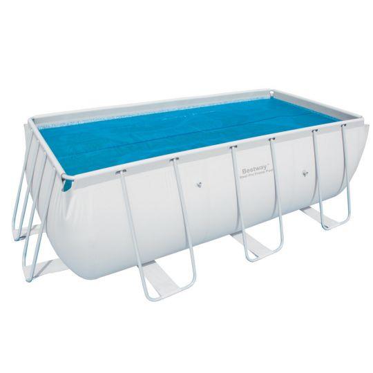 Теплосберегающее покрытие Bestway 58240 для бассейнов 4.12х2.01 м (380х180 см)