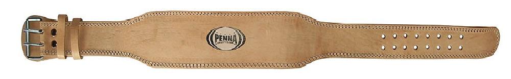 Пояс тяжелоатлетический кожаный широкий PENNA PWLB-531 E125 (15 см)