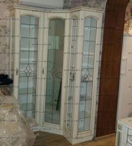 Шкаф-витрина Ферсия МДФ