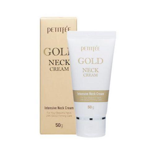 600568 Petitfee Омолаживающий крем для шеи с золотом Gold Neck Cream