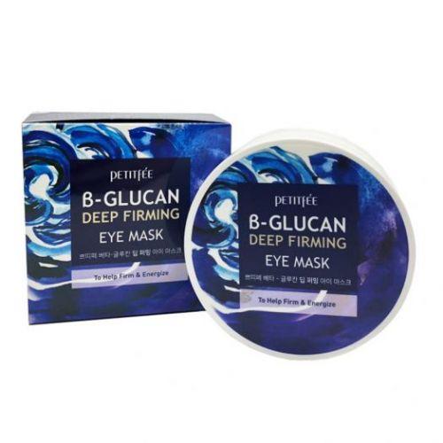 850504 Petitfee Тканевые патчи для кожи вокруг глаз c бета-глюканом B-Glucan Deep Firming Eye Mask
