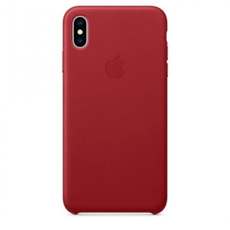Чехол iPhone Xs Max Apple Leather Case
