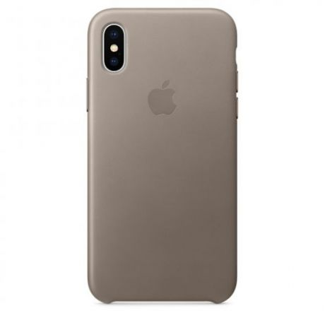 Чехол iPhone X/Xs Apple Leather Case