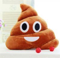 """Подушка Emoji """"Smiling Poop Emoji"""" Эмоджи """"Какашка"""" 35 см"""