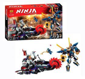 Конструктор Ninja Киллоу против Самурая Х