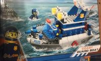 Конструктор City Полицейский транспорт (лодка)