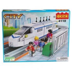 Конструктор City Скоростной поезд