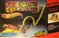 ТРЕК ГОРКА HOT WHEELS + 6 МАШИНОК