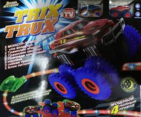 Машинки Trix Trux светящиеся (два набора)