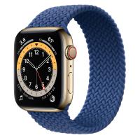 Ремешок Apple Watch Series 6 Atlantic Blue Braided Solo Loop (для корпуса 44 мм)