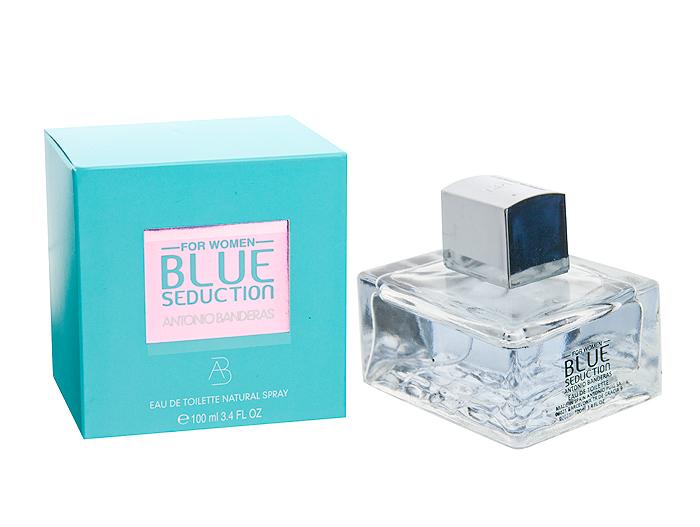 "Туалетная вода Antonio Banderas ""Blue Seduction For Women'', 100ml"