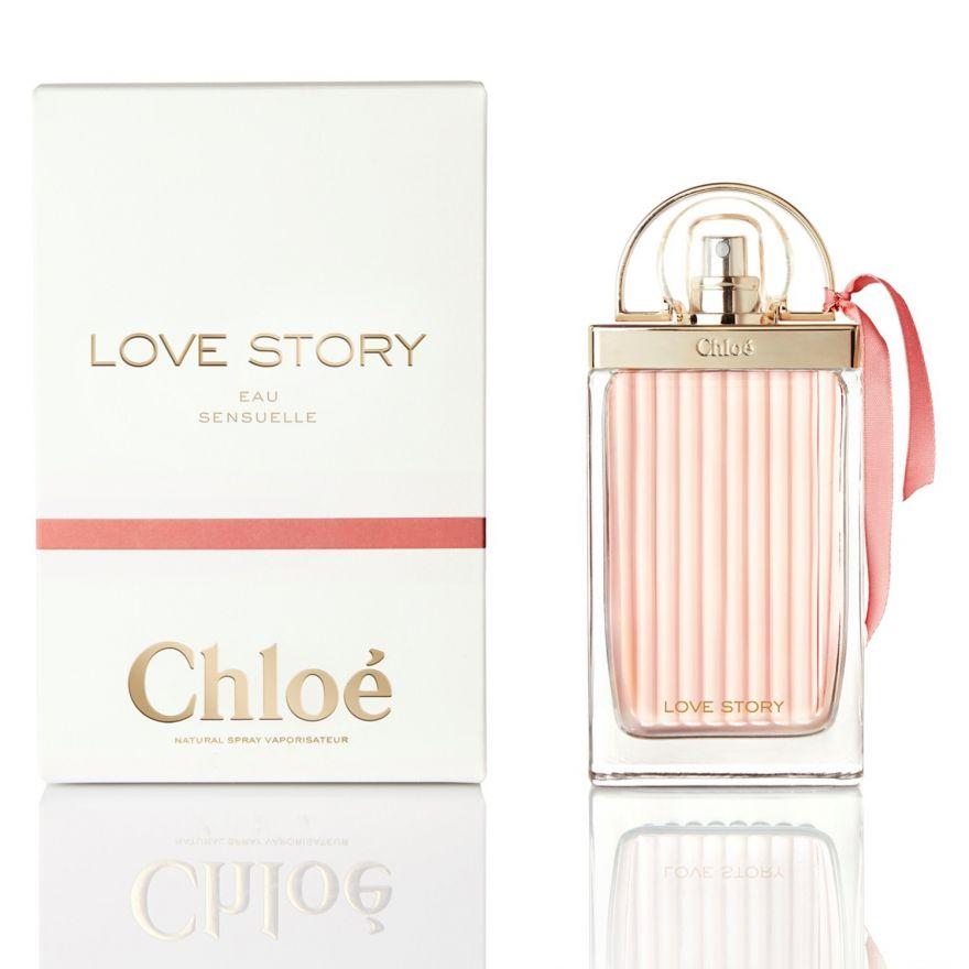 Парфюмерная вода Chloe Love Story Eau Sensuelle 75 мл