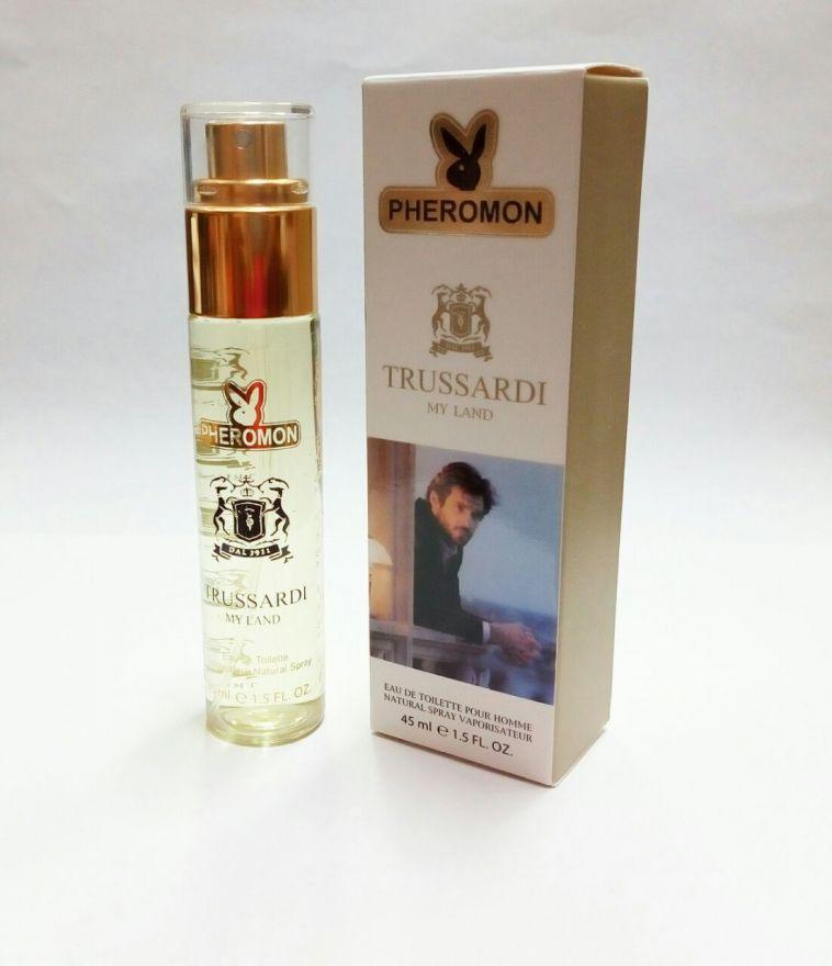Мини-парфюм с феромонами my Land Trussardi 45ml