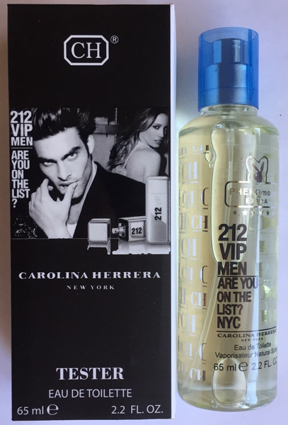 "Мини парфюм с феромонами CAROLINA HERRERA ""212 VIP MEN"" (65 МЛ)"