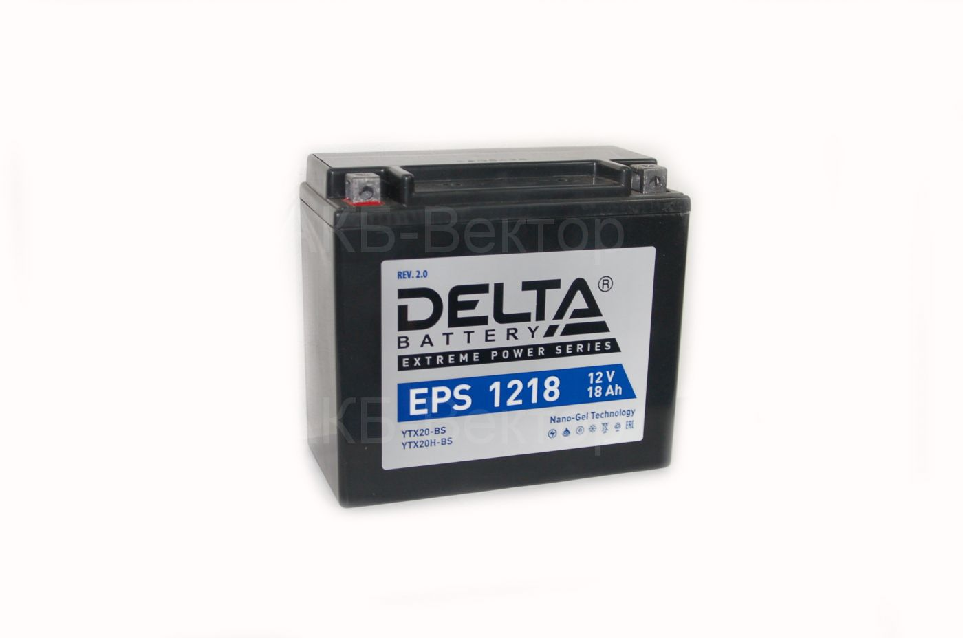 Delta EPS 1218 (18Ач 270А) YTX20-BS