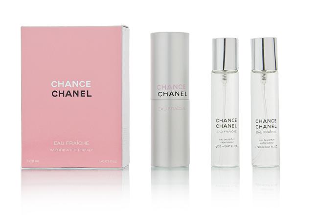 "Туалетная вода Chanel ""CHANCE EAU FRAICHE"", 3х20 ml ?"