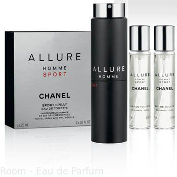 Chanel Allure Homme Sport 3x20 ml