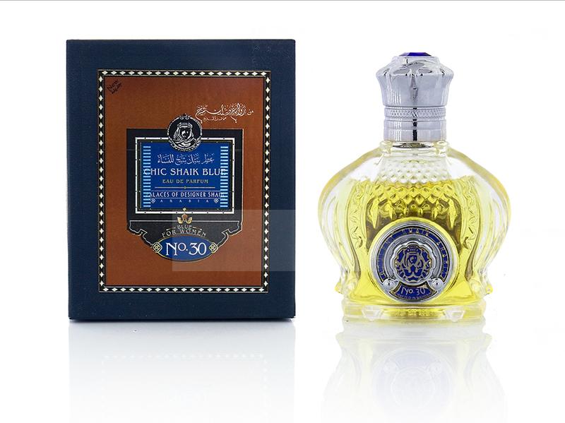 ТЕСТЕР SHAIK,Shaik Chic Blue for Women Perfume №30 100ml