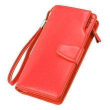 Кошелёк Woman Baellerry Wallet PU Clutch Bag, Красный