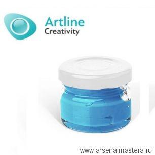 Пигментная паста для эпоксидной смолы 10 гр голубая Pigment Paste Artline PST-00-010-BLU