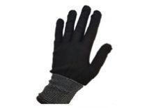 Перчатки нейлоновые без ПВХ (черные)