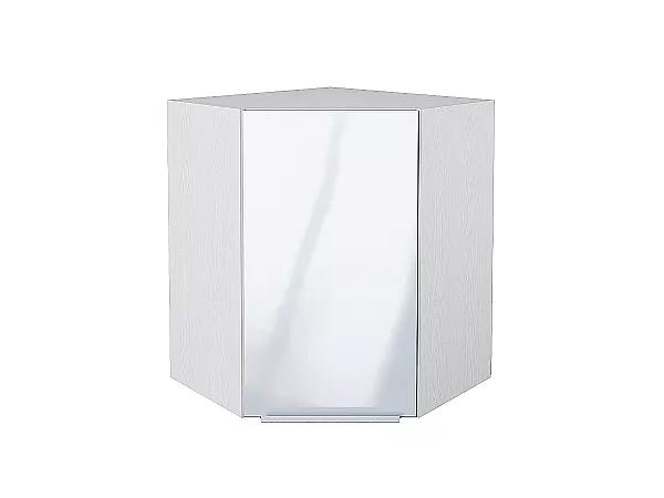 Шкаф верхний угловой Фьюжн ВУ590 (Angel)