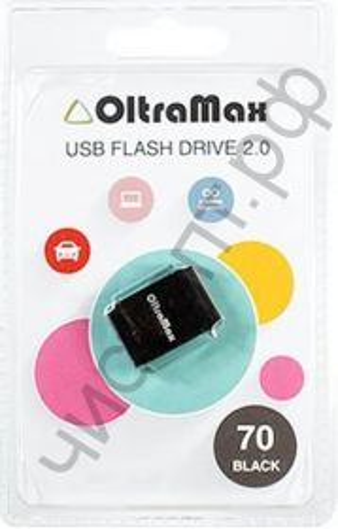 флэш-карта OltraMax 32GB  70  чёрный  BL-1