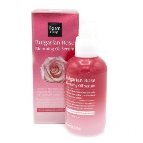 777339 FarmStay Сыворотка для лица с экстрактом болгарской розы Bulgarian Rose Blooming Oil Serum