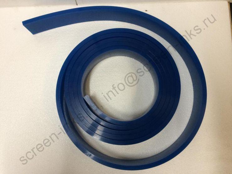 Ракельное полотно LM-PRINT SX-A (синее) 85Sh. 9x50 mm., 1 м. пог