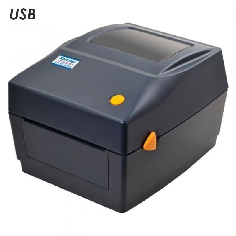 Термальный принтер этикеток Xprinter XP-DT426B черный