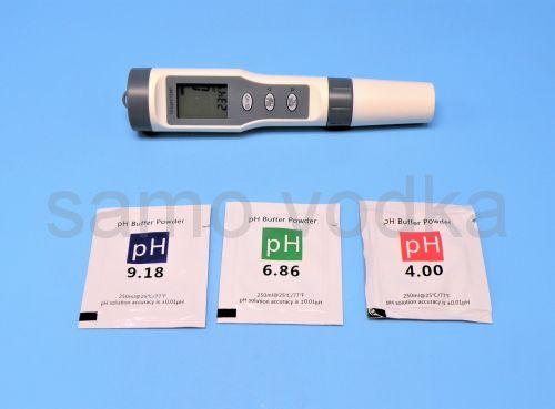 PH-метр + температура + жесткость (TDS)