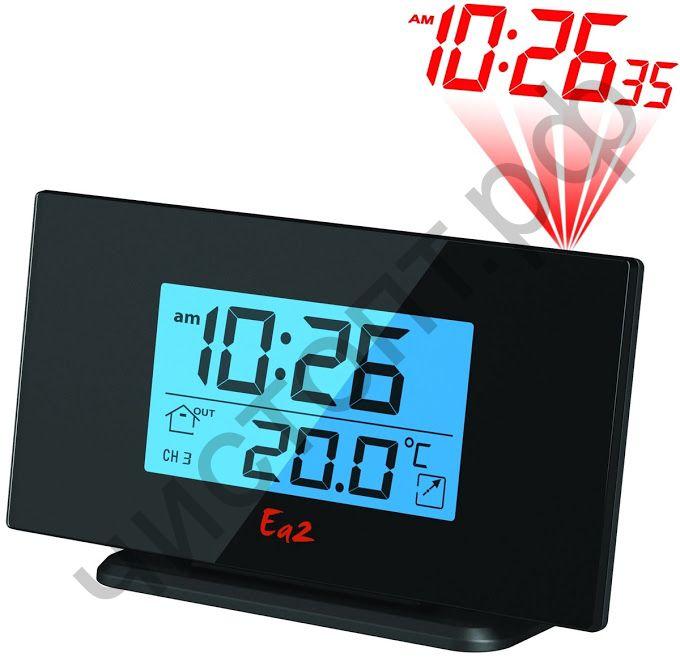 Часы -будильник настол. Ea2 BL505 проекцион. датчик звука