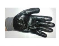 Перчатки утепленные/обрезиненные, серые