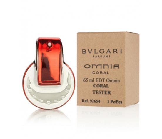 Tester Bvlgari Omnia Coral 65 мл