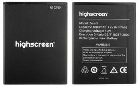 Аккумулятор для телефона Highscreen Zera S 1800mAh