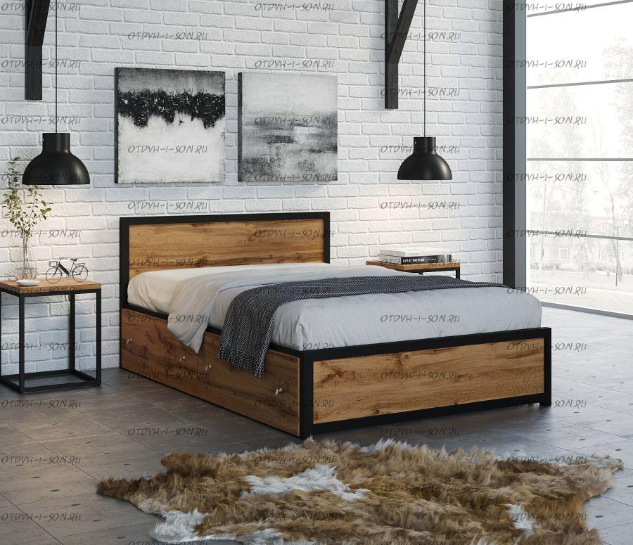 Кровать Титан Лофт 120