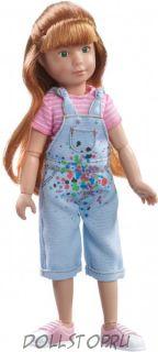 Игровая кукла Хлоя  Одаренный художник Kruselings  от Кэти Крузе -  Käthe Kruse Kruselings doll Chloe a Gifted Painter